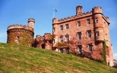 Шотландия, замок Далхаузи