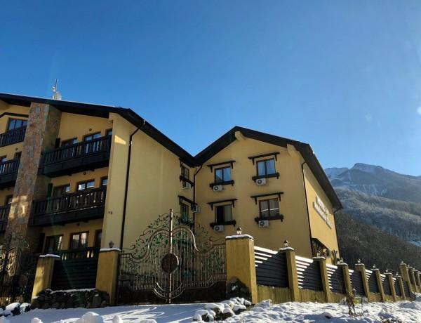 Альпийская сказка отель Эсто Садок