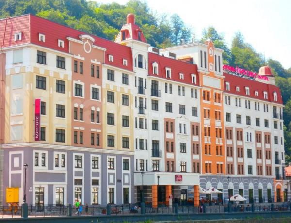 Отель Меркури Красная Поляна