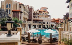 The best hotels in Sudak by the sea for families with children in the Crimea