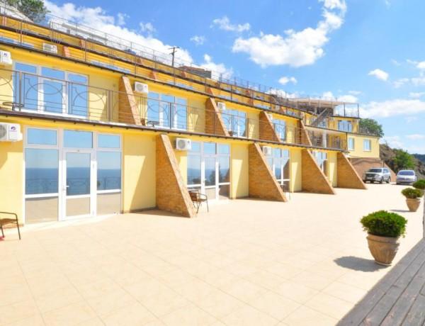 Отель Панорама в Малореченском, Крым