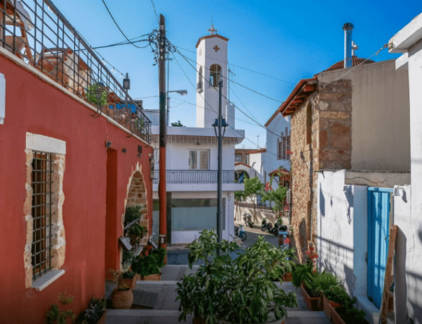 Старый город - район города Малия